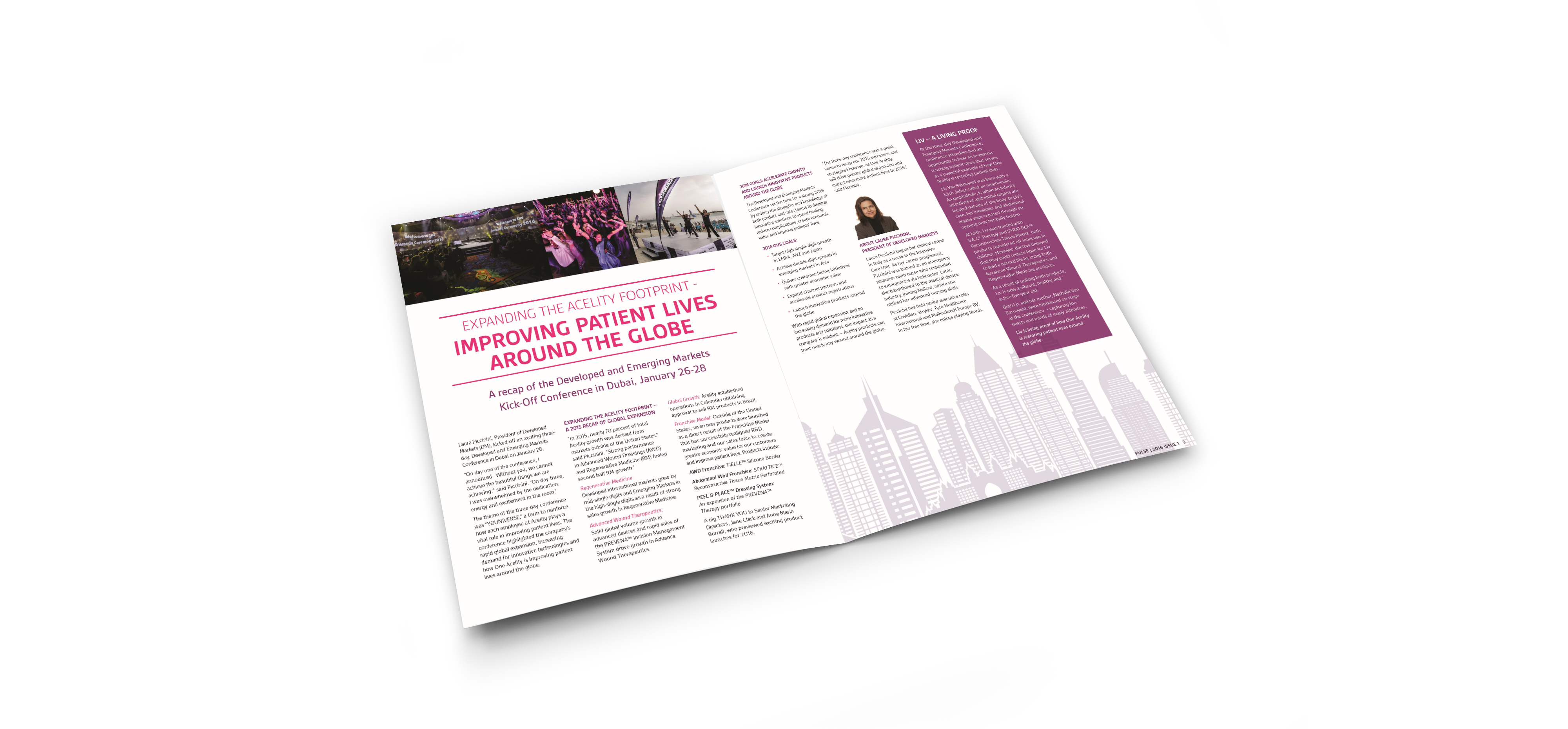 employee newsletter interior pages