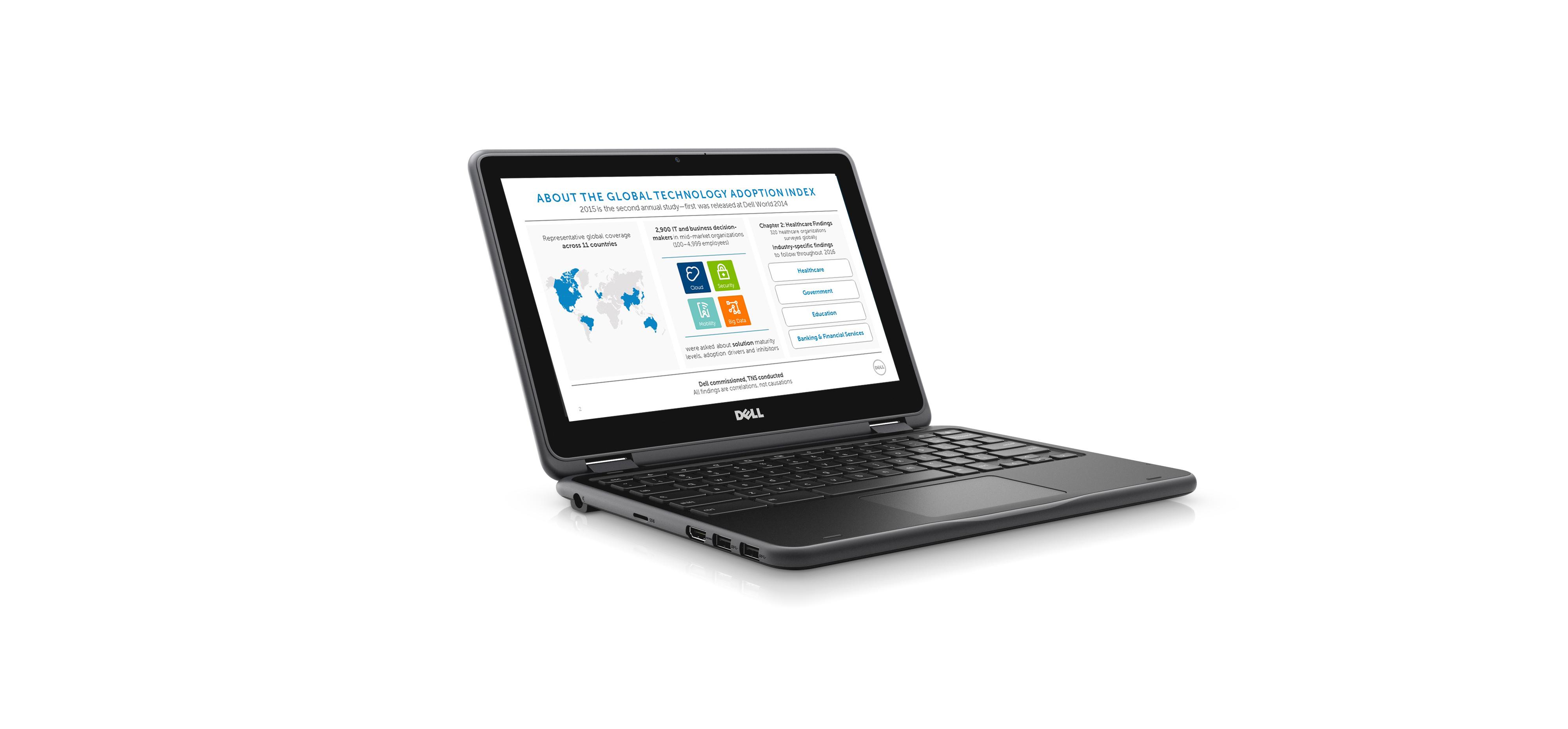 Dell GTAI Survey Graphics Screen Grab